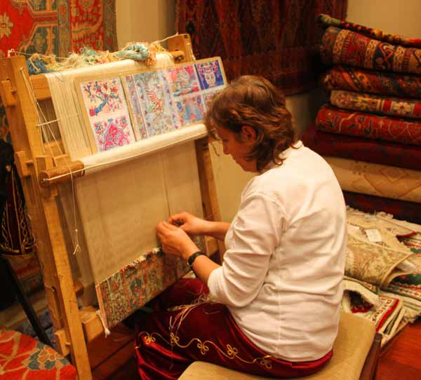 hand knotted weavers