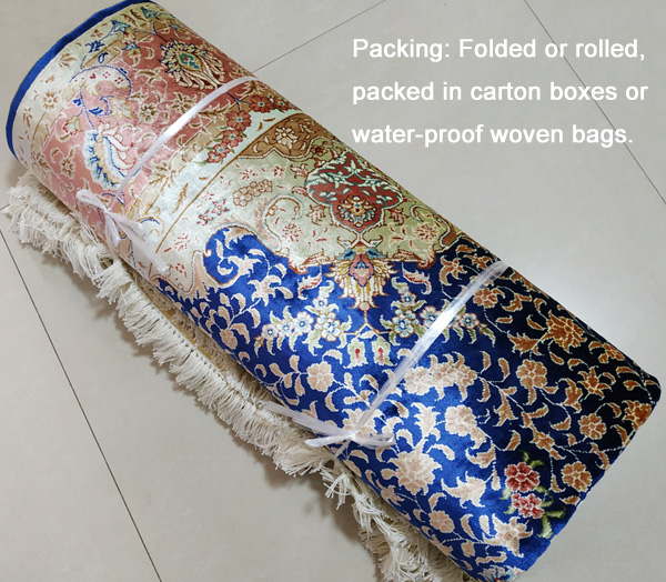 silk carpet packing