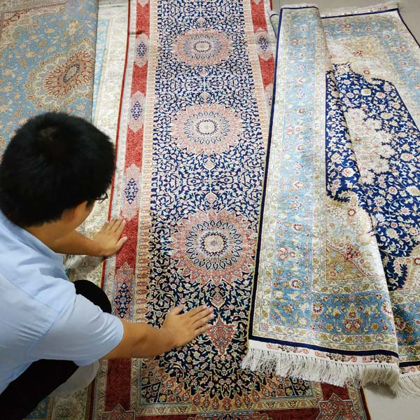 wholesale silk rugs
